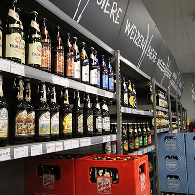 Bier in großer Auswahl
